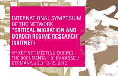 KritNet Symposium 13-15 July 12