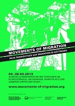 "Ausstellungsparcours ""Movements of Migration"""