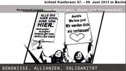 Kritnet Konferenz vom 07. – 09. Juni 2013 in Berlin