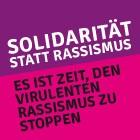 Solidarität statt Rassismus – kritnet Stellungnahme veröffentlicht